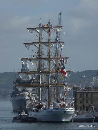 Mexican Navy Training Ship CUAUHTEMOC Portsmouth PDM 29-06-2015 08-07-47