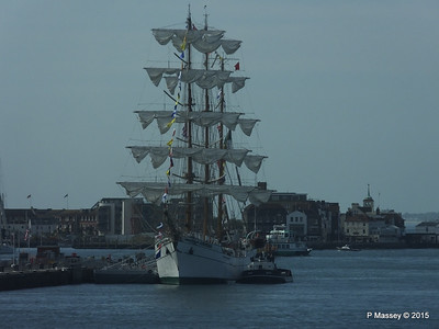 Mexican Navy Training Ship CUAUHTEMOC Portsmouth PDM 29-06-2015 08-01-54