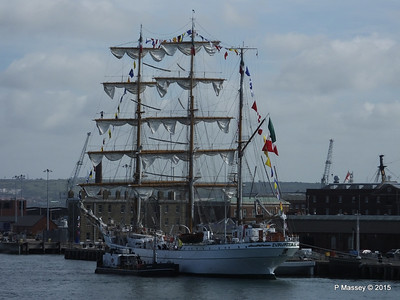 Mexican Navy Training Ship CUAUHTEMOC Portsmouth PDM 29-06-2015 08-06-43