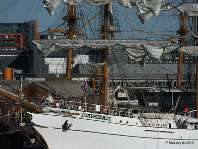 Mexican Navy Training Ship CUAUHTEMOC Portsmouth PDM 29-06-2015 17-42-48
