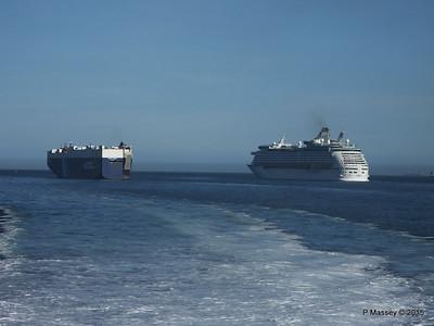 VIRGO LEADER EXPLORER OF THE SEAS Outbound Solent PDM 29-06-2015 17-24-53