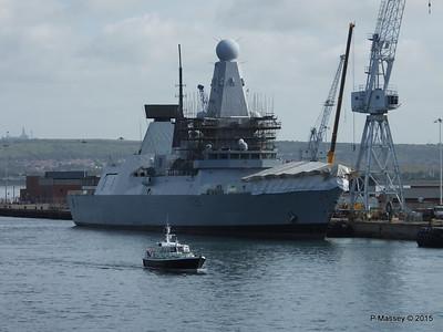 HMS DRAGON D35 Portsmouth PDM 29-06-2015 08-05-37