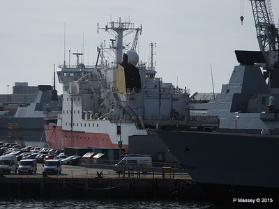 A171 HMS ENDURANCE fro scrap Portsmouth PDM 29-06-2015 07-58-55