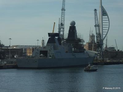 HMS DRAGON D35 Portsmouth PDM 29-06-2015 08-01-28