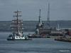 CUAUHTEMOC D35 HMS DRAGON GOSPORT QUEEN Portsmouth PDM 29-06-2015 08-09-34