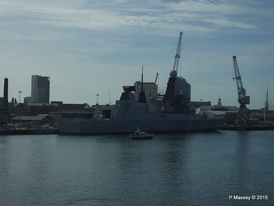 HMS DRAGON D35 Portsmouth PDM 29-06-2015 08-02-08