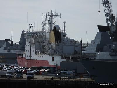 A171 HMS ENDURANCE fro scrap Portsmouth PDM 29-06-2015 07-58-53
