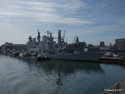 F234 HMS IRON DUKE R06 HMS ILLUSTRIOUS Portsmouth PDM 29-06-2015 07-57-19