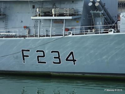 F234 HMS IRON DUKE Portsmouth PDM 29-06-2015 07-57-06