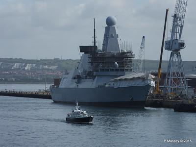 HMS DRAGON D35 Portsmouth PDM 29-06-2015 08-05-56