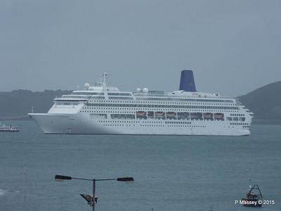 ORIANA at Southampton & Guernsey Apr 2015