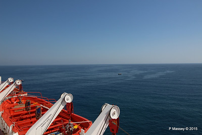 THOMSON SPIRIT Stb Lifeboats Departing Alanya PDM 30-04-2015 13-52-10