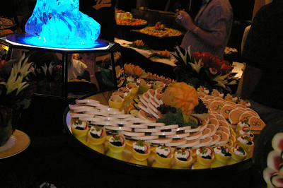 Alaska Cruise 2006 Midnight Buffet