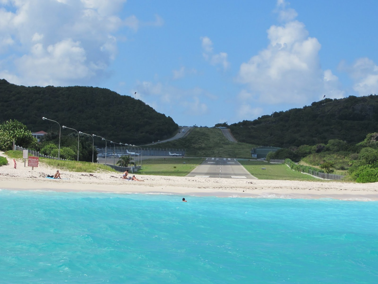 St. Barts Airport!