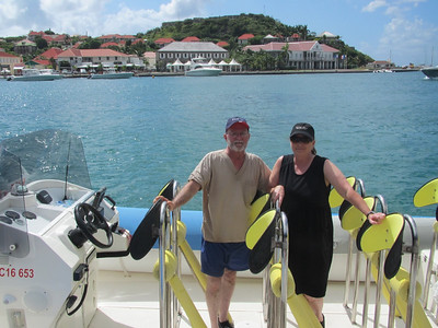Our speed boat excursion in St. Bart's