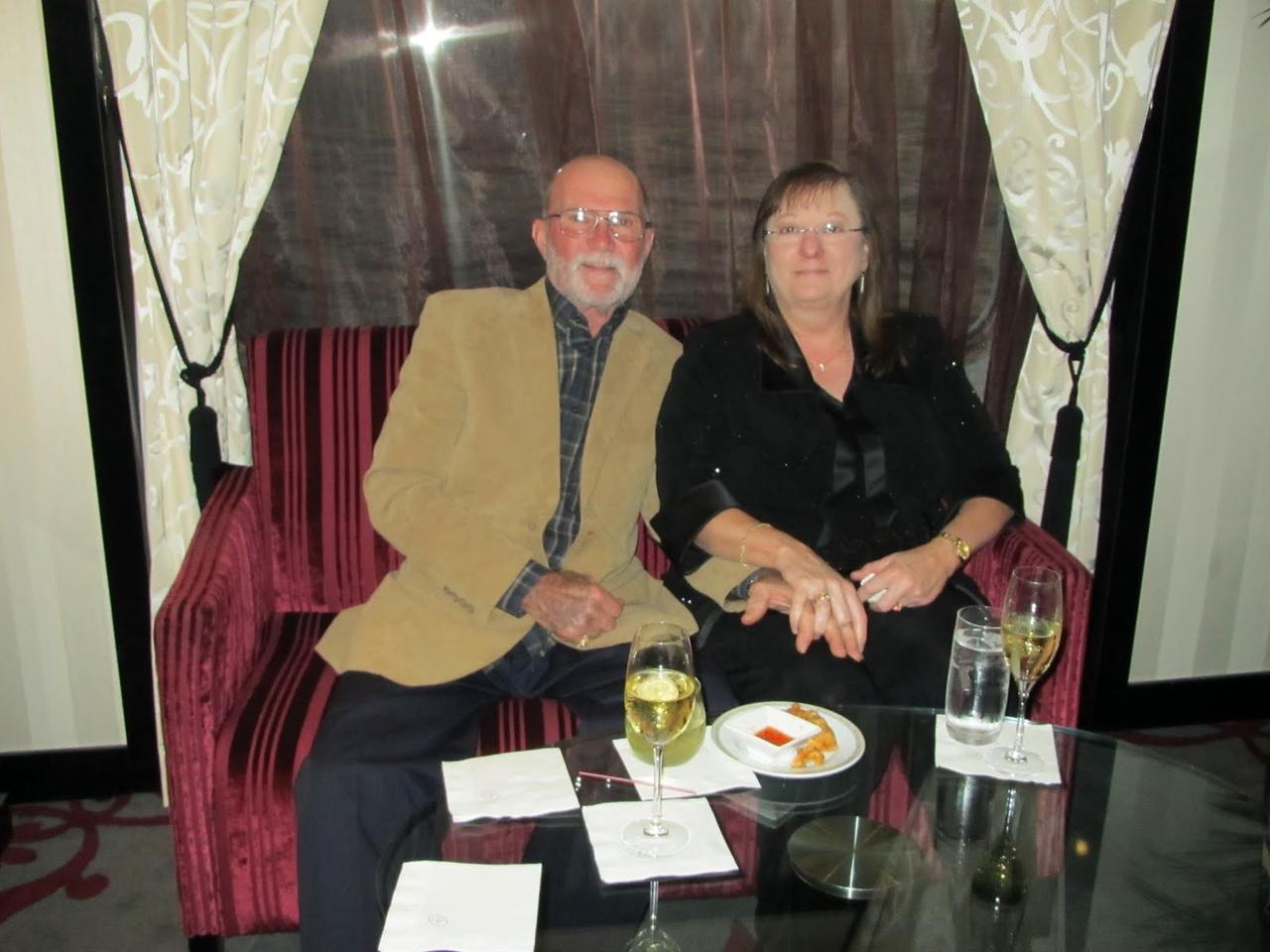 Caviar and Champagne Reception