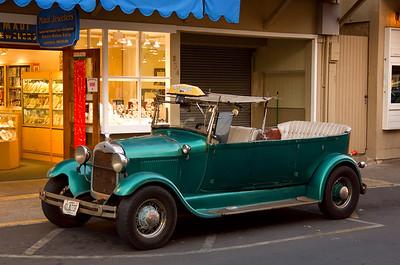 Ford Cab in Lahaina Maui