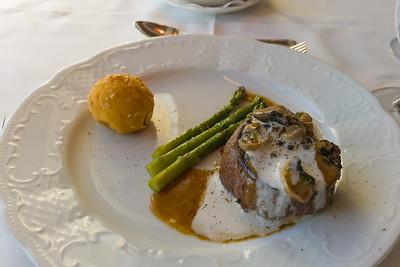 Steak Diane.  I prefer the Seabourn version.