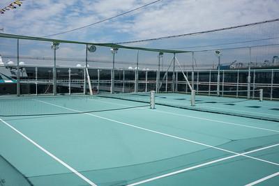 Wimbledon Court on the Serenity