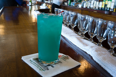 Blue Hawaiian at the Buena Vista Cafe in San Francisco.