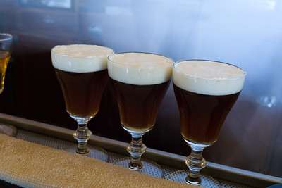 Irish coffees from the Buena Vista, accept no substitutions.