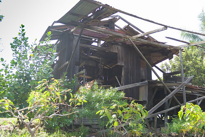 What's a farm without at least one dilapidated building?