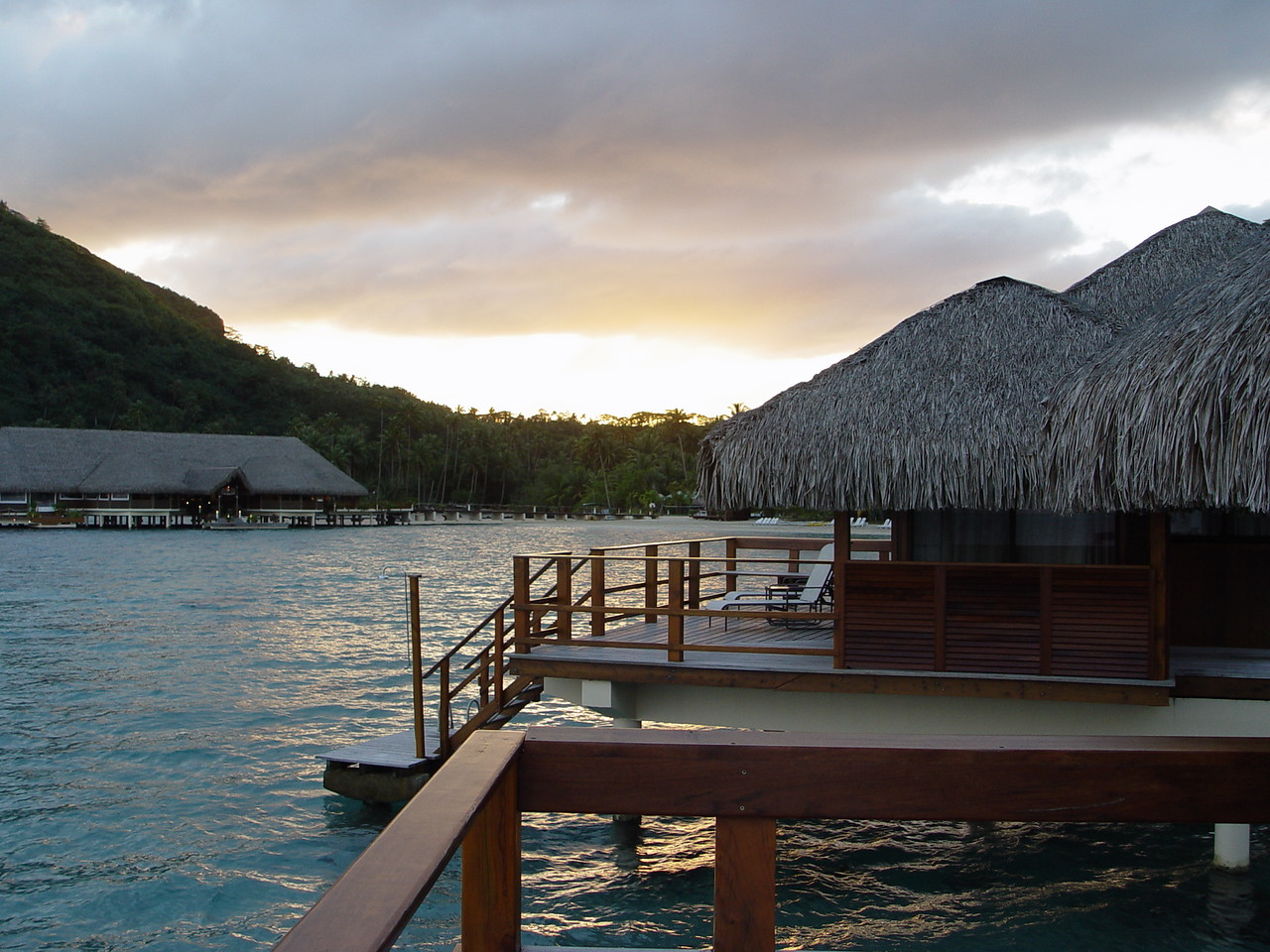 Another view from our bungalow