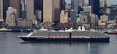 "Holland American Cruise Line ""Oosterdam"" Port of Seattle"