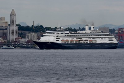 "Holland American Cruise Line ""Amsterdam"" Port of Seattle"