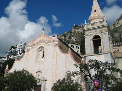 Taormina, Sicily - lovely little church