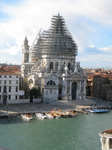 Venice - View of the church across the Grand Canal
