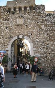 Taormina, Sicily - City Gates