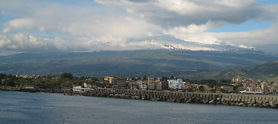 Naxos, Sicily - Mt. Etna