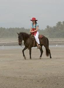 Mexico Cruise 2005  Horseback Riding on a seaside ranch Acapulco, Mexico
