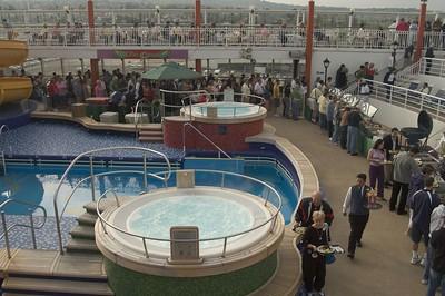 Mexico Cruise 2005  Sail away Party