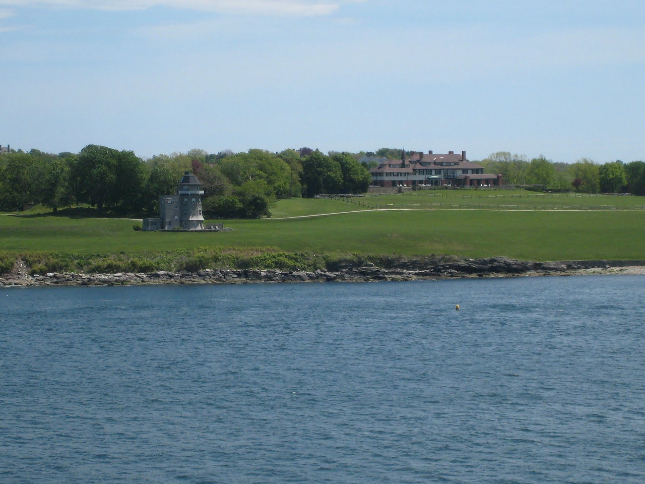 Newport, Rhode Island - Hammersmith Farm (former home of the Bouvier family and site of wedding reception for JFK and Jackie)