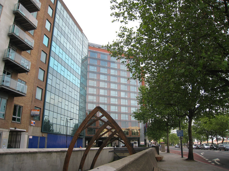 Our hotel - Park Plaza Riverbank, London