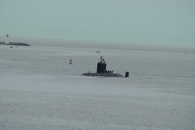 Submarine patrolling - Halifax, Nova Scotia