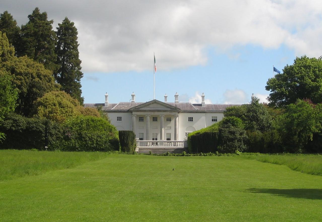 Aras an Uachtaráin - Residence of the President of Ireland