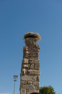 Part of a Roman aqueduct