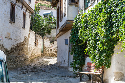 "Quaint little Greek village in Turkey, very high density of ""locally produced stuff"" shops"