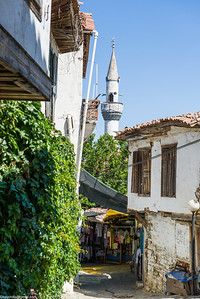 "Quaint little Greek village in Turkey, very high density of ""locally produced stuff"" shops"
