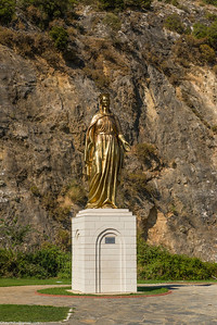 Statue of Mary, wonder where were headed