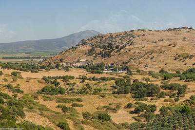 View from a bus of Ephesus