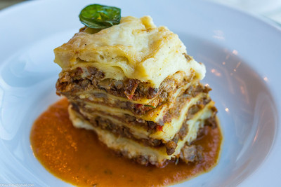 Leaning tower of lasagna