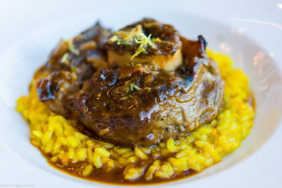 Osso bucco - sadly very very over salted