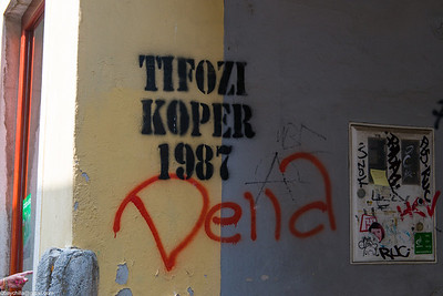 It's a pity today that graffiti seems to look the same everywhere