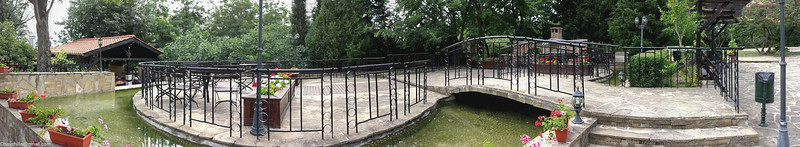 Panorama of the pond area, best viewed in original size