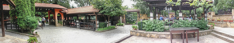 Panorama of part of the grounds, best viewed original size