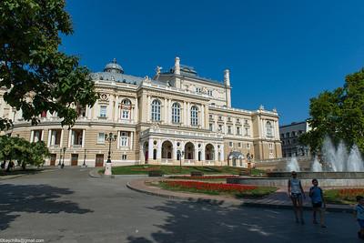 Odessa, Ukraine July 2013